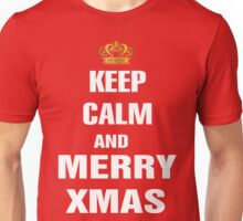 Keep Calm and Merry Xmas Unisex T-Shirt