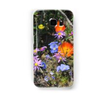 Flower Paint Splattering Samsung Galaxy Case/Skin