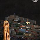 The Scream World Tour Molyvos Lesvos Greece by Eric Kempson