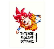 (DRAGONBALL SUPER) Fainal Super Saiyan Art Print