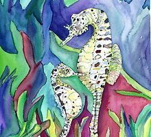 Seahorses by mleboeuf