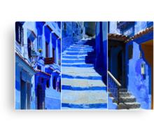 The Blue City IV Canvas Print
