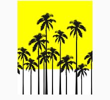 Colorful Summer Neon Yellow & Tropical Palm Trees Unisex T-Shirt