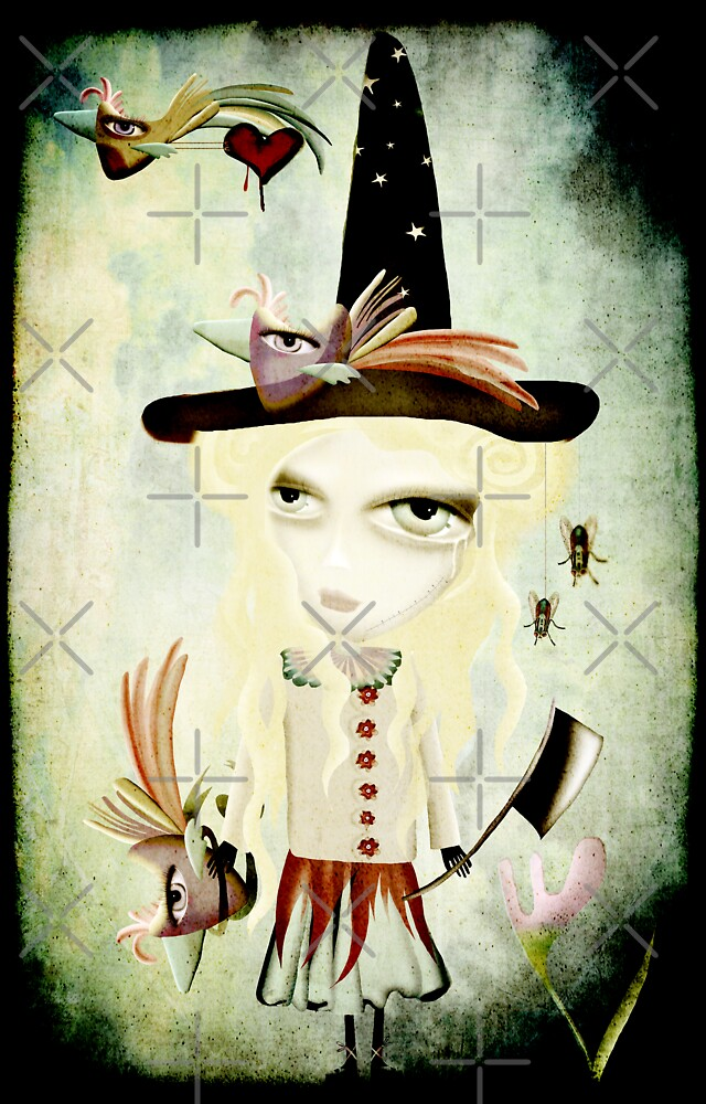 The Freaky doll of fright melancholy by rupydetequila