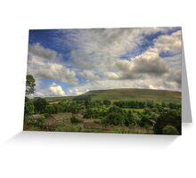 PENDLE HILL BIG SKY Greeting Card