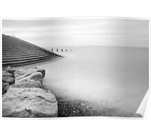 BISPHAM SEA FRONT LONG EXPOSURE Poster