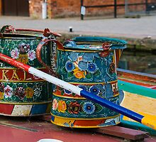 Boats on Trent Water ways by Elaine123