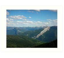 Schafer Creek Trail- Great Bear WIlderness, Montana Art Print