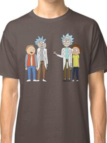 Doc and Mharti and Rick and Morty Classic T-Shirt