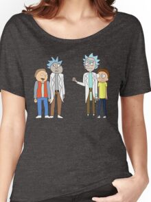 Doc and Mharti and Rick and Morty Women's Relaxed Fit T-Shirt