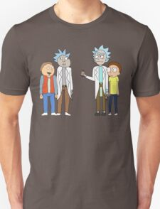 Doc and Mharti and Rick and Morty T-Shirt