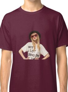 """Taylor's 22 """"Not a lot going on at the moment"""" Classic T-Shirt"""