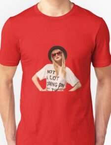 """Taylor's 22 """"Not a lot going on at the moment"""" T-Shirt"""