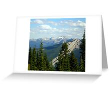Schafer Creek Trail- Great Bear Wilderness, Montana Greeting Card