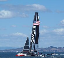 Oracle Team USA- America's Cup by DonnaMoore