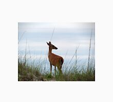 Deer Checking Out The Beach Unisex T-Shirt