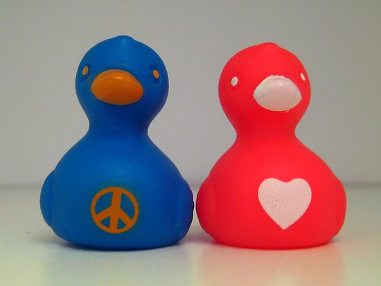 Peace, Love, Duckies by KathrynSylor