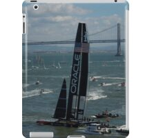 """""""The USA Oracle wins the America's Cup"""" iPad Case/Skin"""