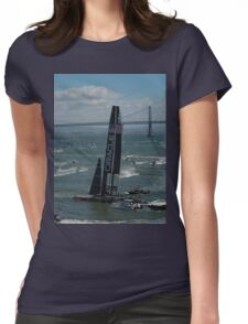 """""""The USA Oracle wins the America's Cup"""" Womens Fitted T-Shirt"""