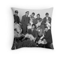 Plucking Group, Barwell, Leicestershire Throw Pillow