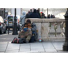 Paris - Pain and love. Photographic Print