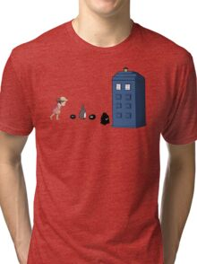 Studio Ghibli Meets the Doctor Tri-blend T-Shirt