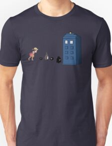 Studio Ghibli Meets the Doctor Unisex T-Shirt