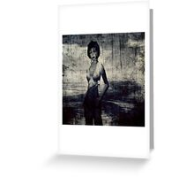 Transient woman Greeting Card