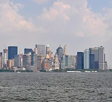NYC Skyline Panorama by Hilda Rytteke