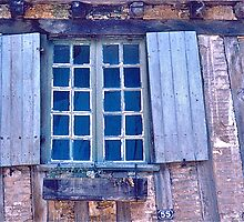 Blue Window by David Davies