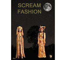 The Scream World Tour with Fashion Scream Fashion Photographic Print