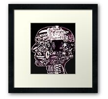 The Engine room  Framed Print