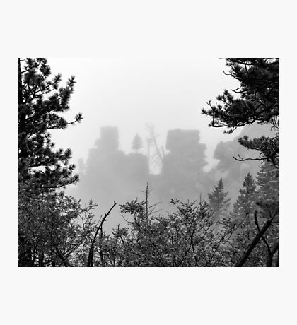 Cloudy View Photographic Print