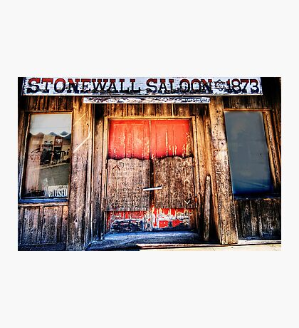 StoneWall Saloon - Saint Jo , Texas Photographic Print