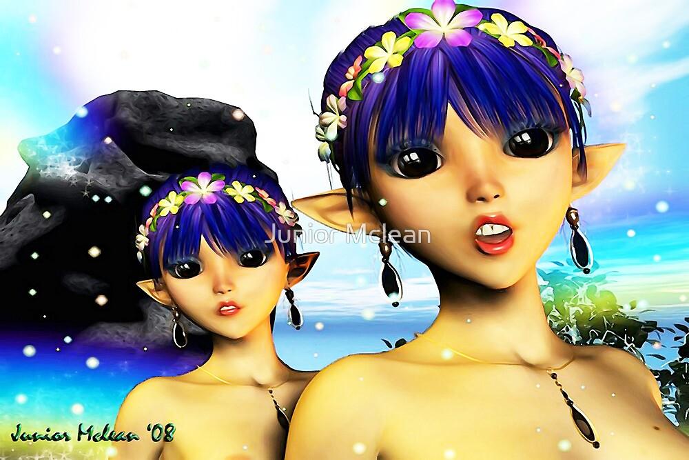 The Elf Sisters by Junior Mclean