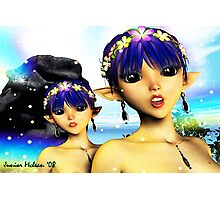 The Elf Sisters Photographic Print