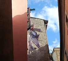 Catching a Breeze-Orte, Italy by Deborah Downes