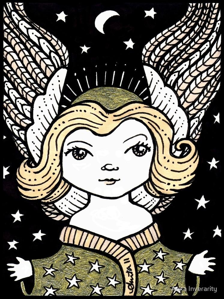 Little Angel Hug by Anita Inverarity