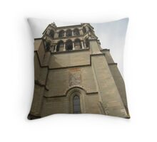 Up in the Tower - Lausanne, Switzerland Throw Pillow