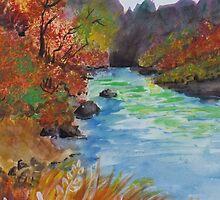 """""""Wonderous Riverside"""" by Edwin Fuller"""