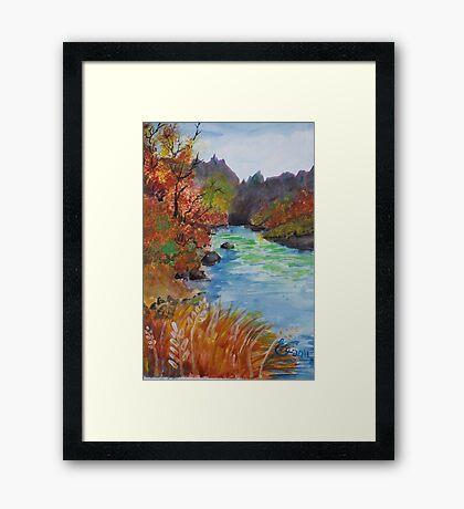 """""""Wonderous Riverside"""" Framed Print"""