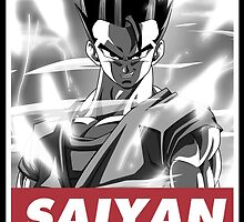 Mystic Son Gohan by guts927