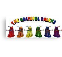 The Grateful Daleks Canvas Print