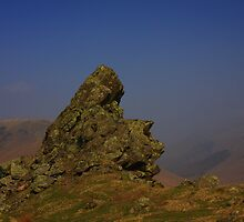 THE HOWITZER, HELM CRAG. by Phil  WEBB