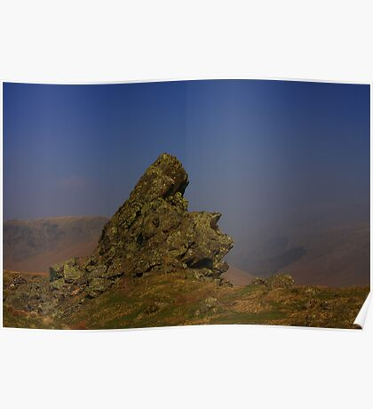 THE HOWITZER, HELM CRAG. Poster