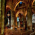Inside St Giles Cathedral, Edinburgh by Christine Smith