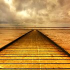 LYTHAM JETTY by Phil  WEBB
