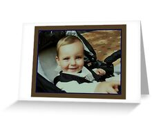 perfect little guy :) Greeting Card