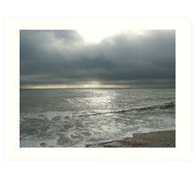 Seascape v.2 - Brighton Art Print