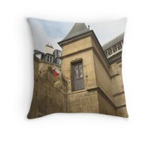 A Door to Nowhere - Musee du Cluny, Paris Throw Pillow